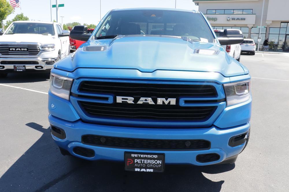 2021 Ram 1500 Crew Cab 4x4, Pickup #621602 - photo 3