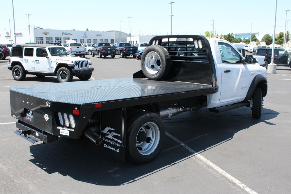 2020 Ram 5500 Regular Cab DRW 4x4, CM Truck Beds Platform Body #621610 - photo 1