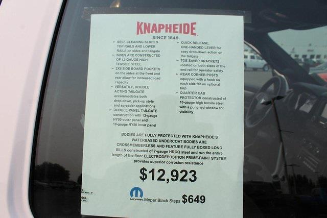 2021 Ram 5500 Regular Cab DRW 4x4,  Knapheide Drop Side Dump Body #621875 - photo 11