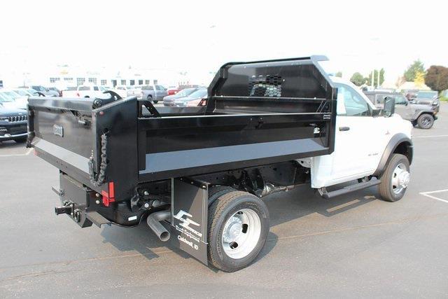 2021 Ram 5500 Regular Cab DRW 4x4,  Knapheide Drop Side Dump Body #621875 - photo 2