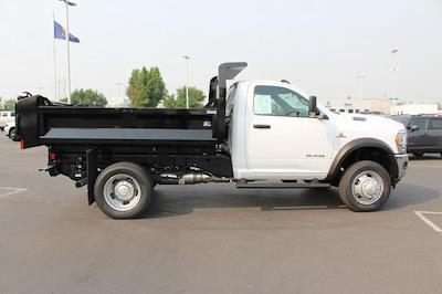 2021 Ram 5500 Regular Cab DRW 4x4,  Knapheide Drop Side Dump Body #621875 - photo 8