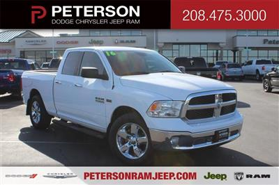 2016 Ram 1500 Quad Cab 4x4, Pickup #69459A - photo 1