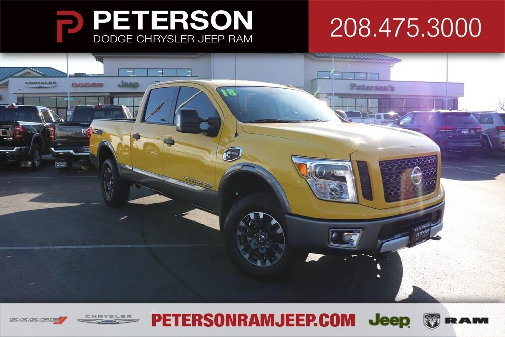 2018 Titan XD Crew Cab, Pickup #69789A - photo 1