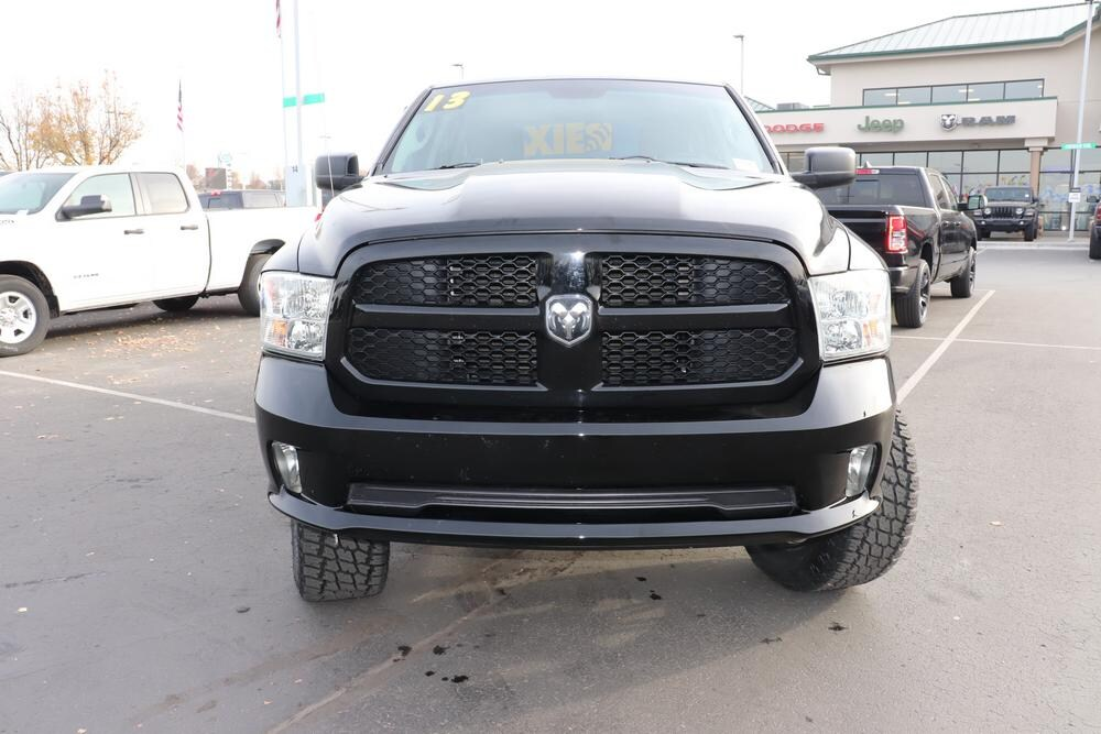 2013 Ram 1500 Quad Cab 4x4, Pickup #69889A - photo 3