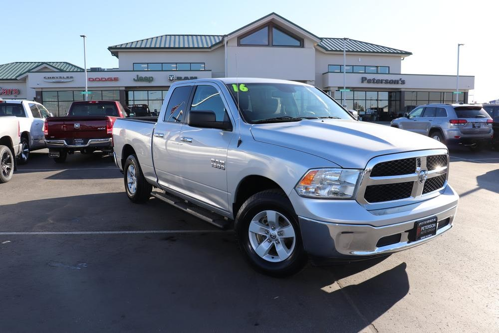 2016 Ram 1500 Quad Cab 4x4, Pickup #820062A - photo 3