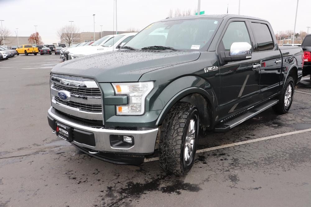 2015 F-150 SuperCrew Cab 4x4, Pickup #820225A - photo 4