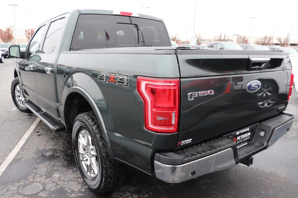2015 F-150 SuperCrew Cab 4x4, Pickup #820225A - photo 6