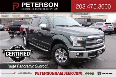 2015 F-150 SuperCrew Cab 4x4, Pickup #820225A - photo 1