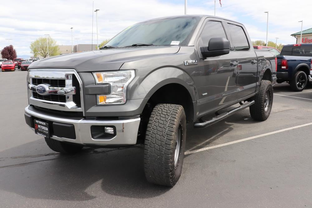 2015 Ford F-150 SuperCrew Cab 4x2, Pickup #820306A - photo 3