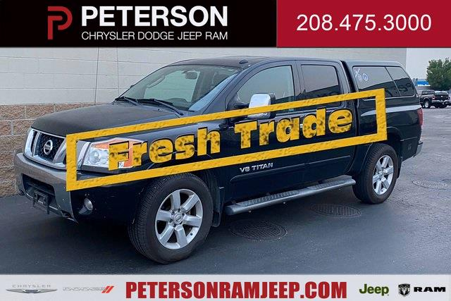 2011 Nissan Titan Crew Cab 4x4, Pickup #821055A - photo 1