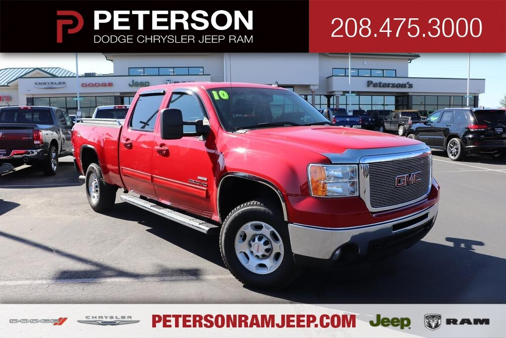 2010 Sierra 2500 Crew Cab 4x4, Pickup #993395 - photo 1