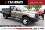 2008 Ram 3500 Quad Cab DRW 4x4, Stake Bed #9C93581A - photo 1