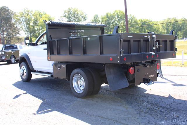 2020 Ram 4500 Regular Cab DRW 4x4,  Carolina Custom Products Square Steel Landscape Dump #D205295 - photo 5
