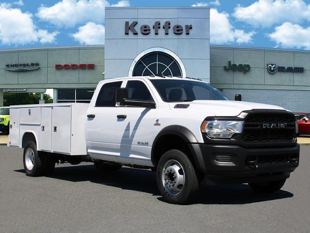 2021 Ram 4500 Crew Cab DRW 4x4, Reading Service Body #D215191 - photo 1