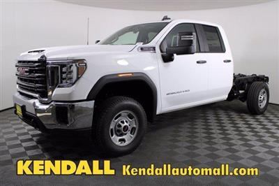 2020 GMC Sierra 2500 Double Cab 4x4, Cab Chassis #D400240 - photo 1
