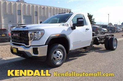 2020 GMC Sierra 3500 Regular Cab 4x4, Cab Chassis #D400272 - photo 1