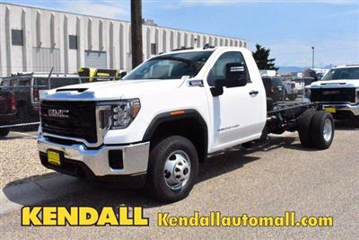 2020 GMC Sierra 3500 Regular Cab 4x4, Cab Chassis #D400273 - photo 1