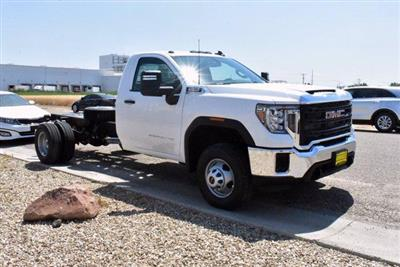 2020 GMC Sierra 3500 Regular Cab 4x4, Cab Chassis #D400274 - photo 3