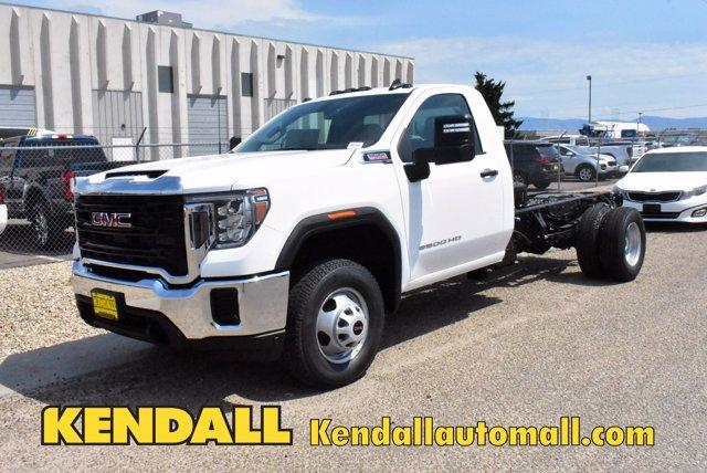 2020 GMC Sierra 3500 Regular Cab 4x4, Cab Chassis #D400275 - photo 1