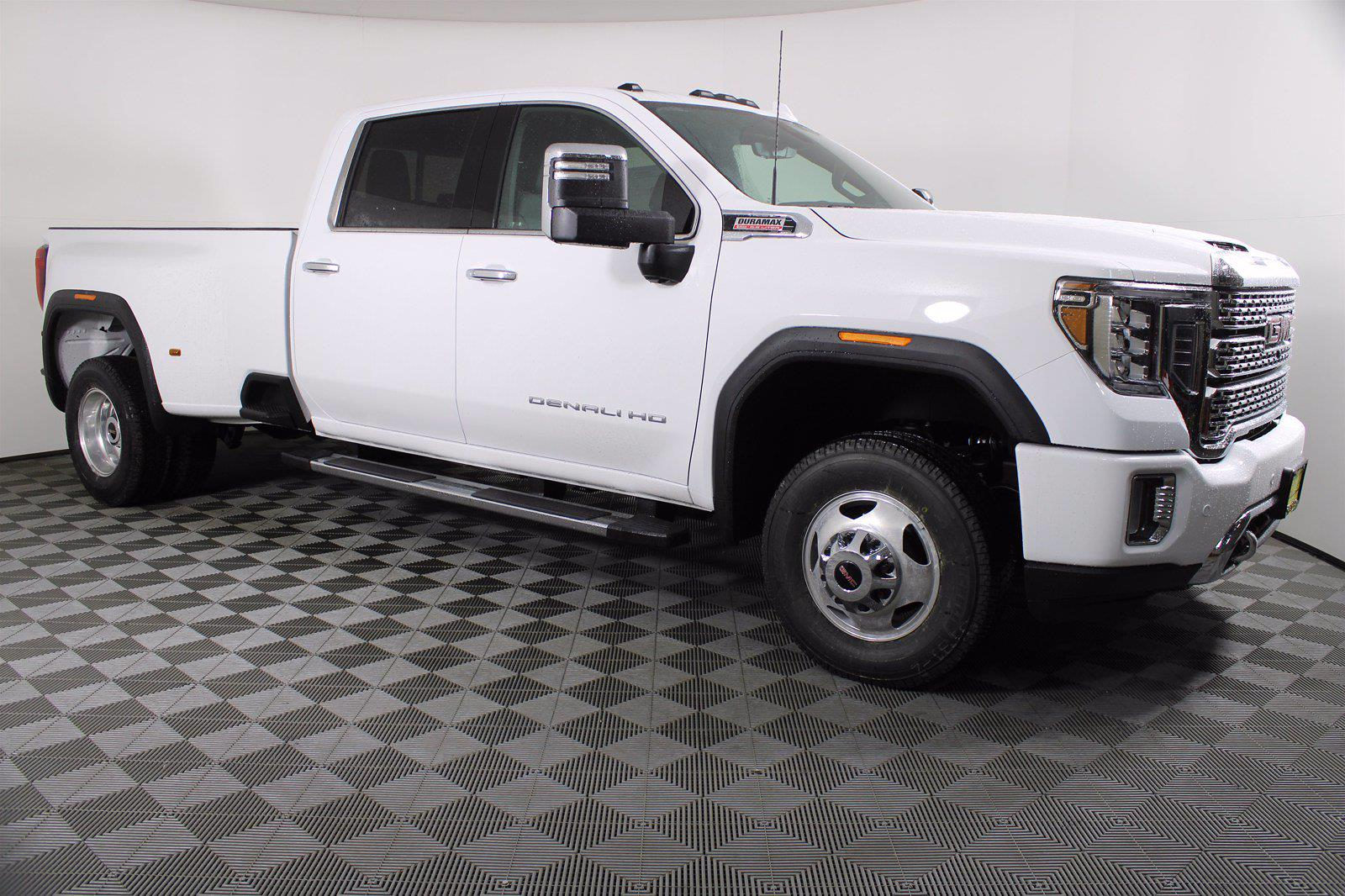 2021 GMC Sierra 3500 Crew Cab 4x4, Pickup #D410490 - photo 4