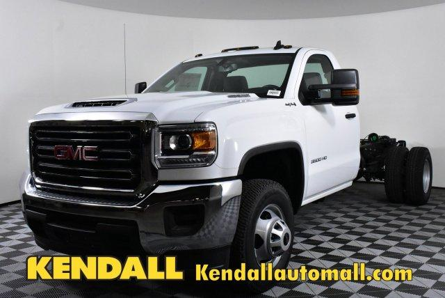 2018 Sierra 3500 Regular Cab DRW 4x4,  Cab Chassis #D480460 - photo 1