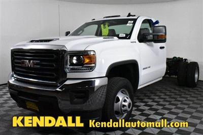 2018 Sierra 3500 Regular Cab DRW 4x4,  Cab Chassis #D480515 - photo 1