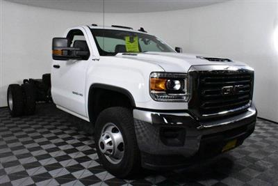2018 Sierra 3500 Regular Cab DRW 4x4,  Cab Chassis #D480515 - photo 4