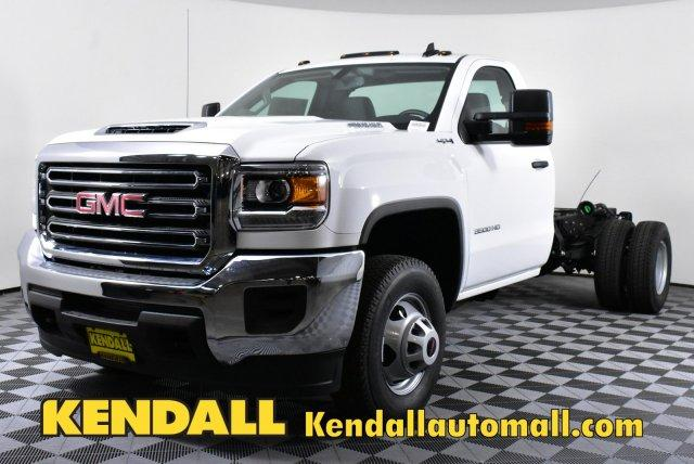 2018 Sierra 3500 Regular Cab DRW 4x4, Cab Chassis #D480516 - photo 1