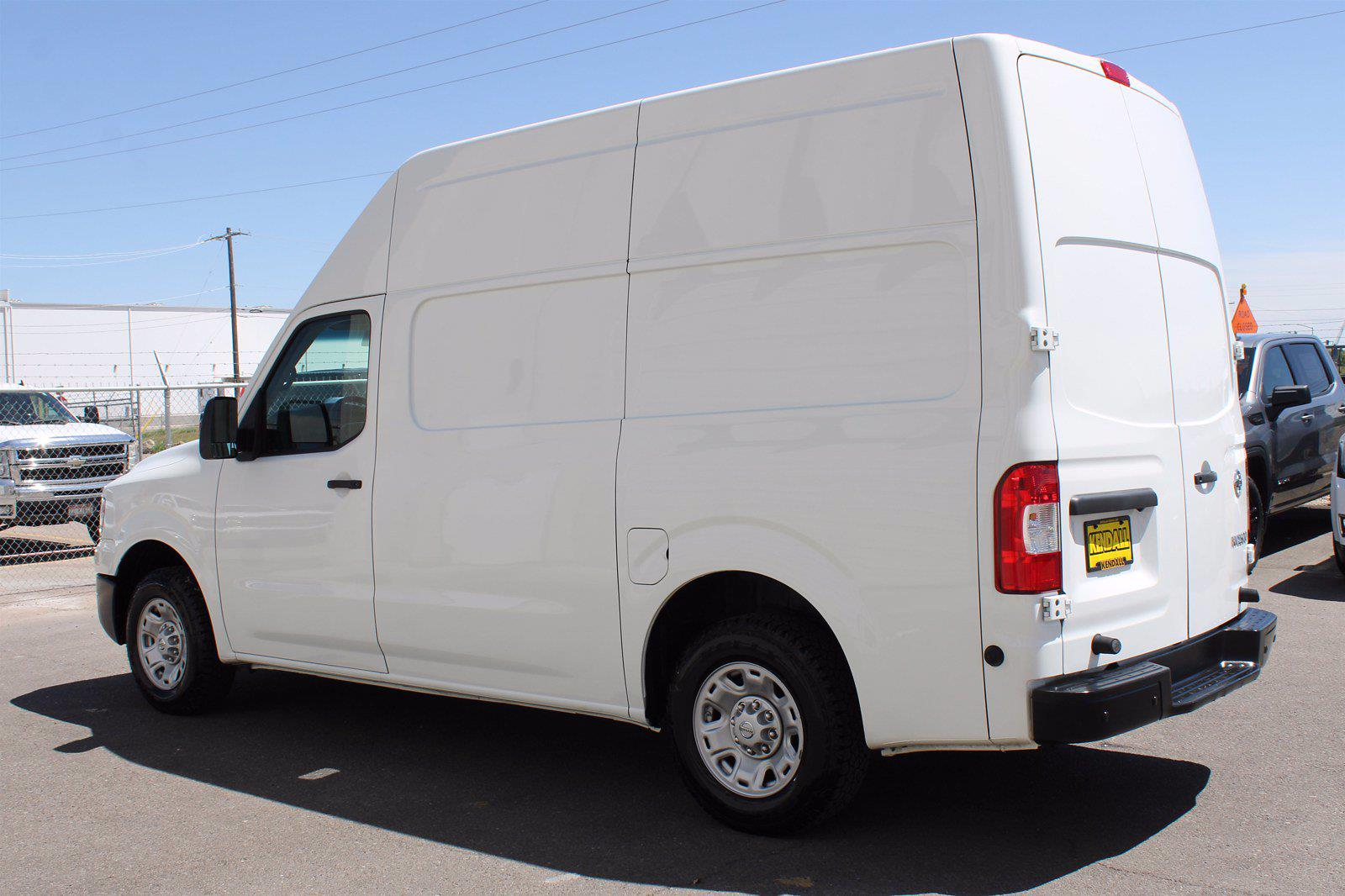 2019 Nissan NV HD High Roof 4x2, Empty Cargo Van #DU90801 - photo 4