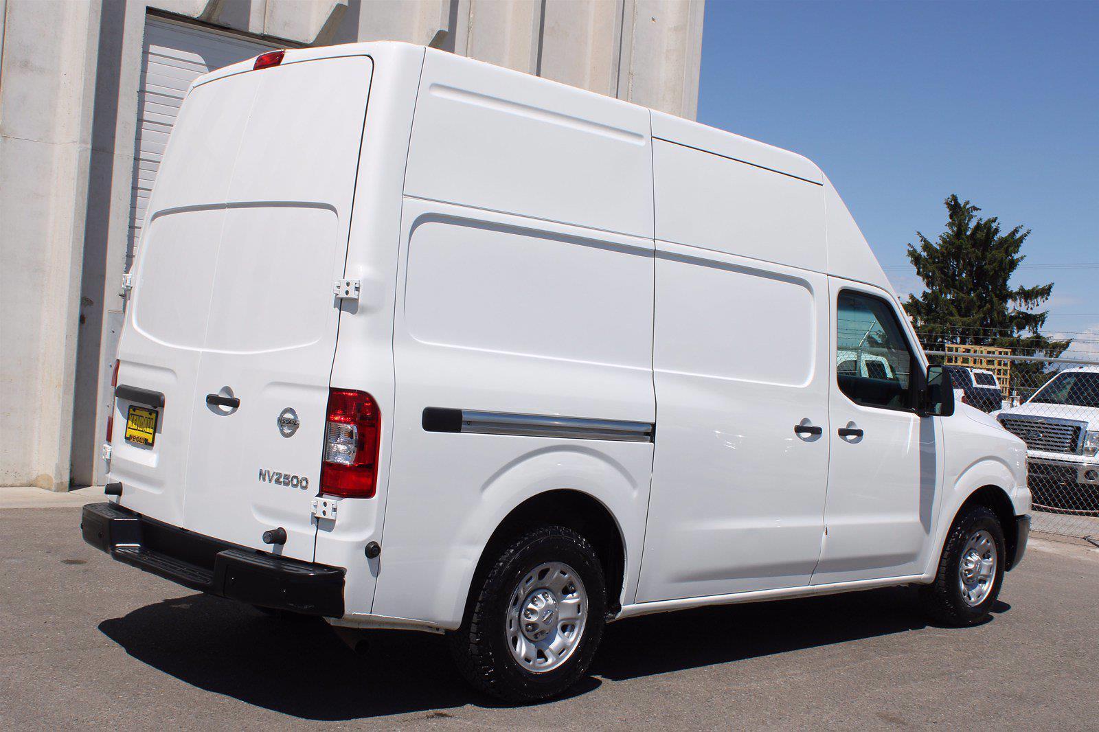 2019 Nissan NV HD High Roof 4x2, Empty Cargo Van #DU90801 - photo 8