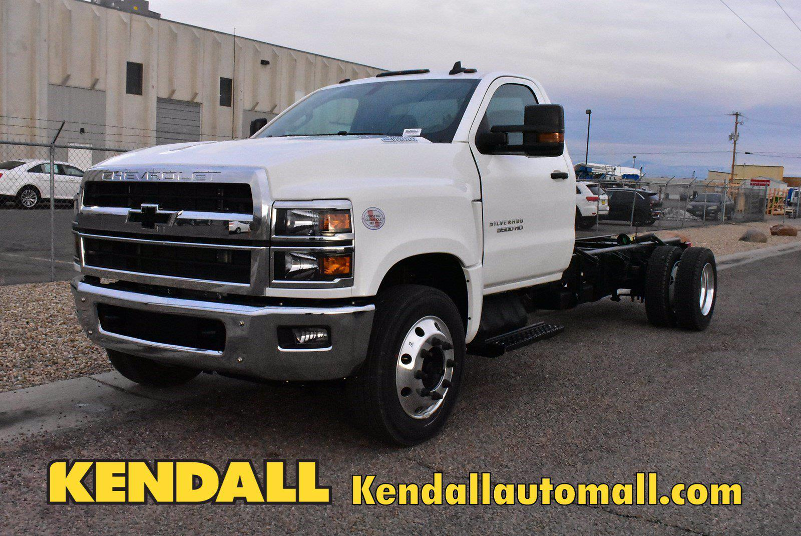 2020 Chevrolet Silverado 5500 DRW 4x2, Cab Chassis #D100217 - photo 1