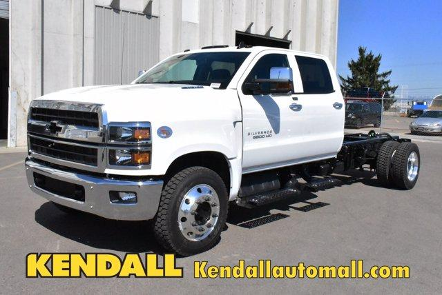 2020 Chevrolet Silverado Medium Duty Crew Cab DRW 4x2, Cab Chassis #D100225 - photo 1