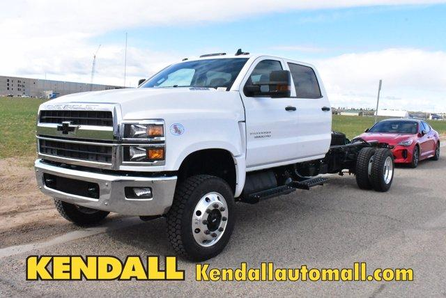 2020 Chevrolet Silverado Medium Duty Crew Cab DRW 4x4, Cab Chassis #D100228 - photo 1