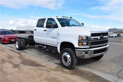 2020 Chevrolet Silverado Medium Duty Crew Cab DRW 4x4, Cab Chassis #D100228 - photo 3