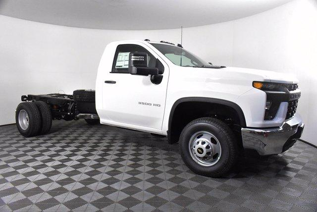 2020 Chevrolet Silverado 3500 Regular Cab DRW 4x4, Cab Chassis #D100309 - photo 4