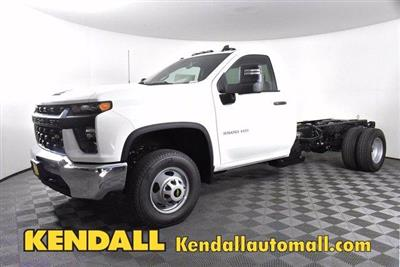 2020 Chevrolet Silverado 3500 Regular Cab DRW 4x4, Cab Chassis #D100309 - photo 1
