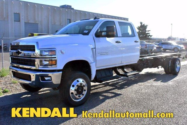 2020 Chevrolet Silverado Medium Duty Crew Cab DRW 4x4, Cab Chassis #D100327 - photo 1