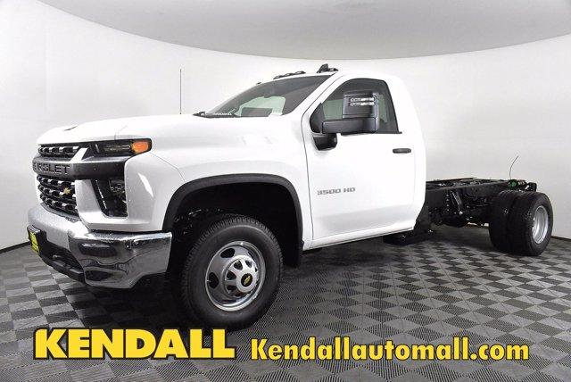 2020 Chevrolet Silverado 3500 Regular Cab DRW 4x4, Cab Chassis #D100369 - photo 1