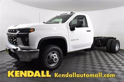 2020 Chevrolet Silverado 3500 Regular Cab DRW 4x4, Cab Chassis #D100370 - photo 1
