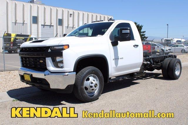 2020 Chevrolet Silverado 3500 Regular Cab DRW 4x4, Cab Chassis #D100372 - photo 1