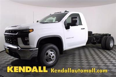 2020 Chevrolet Silverado 3500 Regular Cab DRW RWD, Cab Chassis #D100376 - photo 1