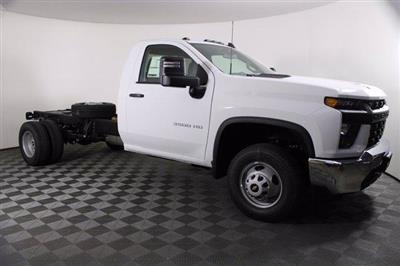 2020 Chevrolet Silverado 3500 Regular Cab DRW RWD, Cab Chassis #D100376 - photo 3