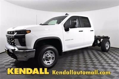 2020 Chevrolet Silverado 2500 Double Cab 4x4, Cab Chassis #D100401 - photo 1