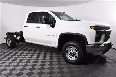 2020 Chevrolet Silverado 2500 Double Cab 4x4, Cab Chassis #D100401 - photo 3