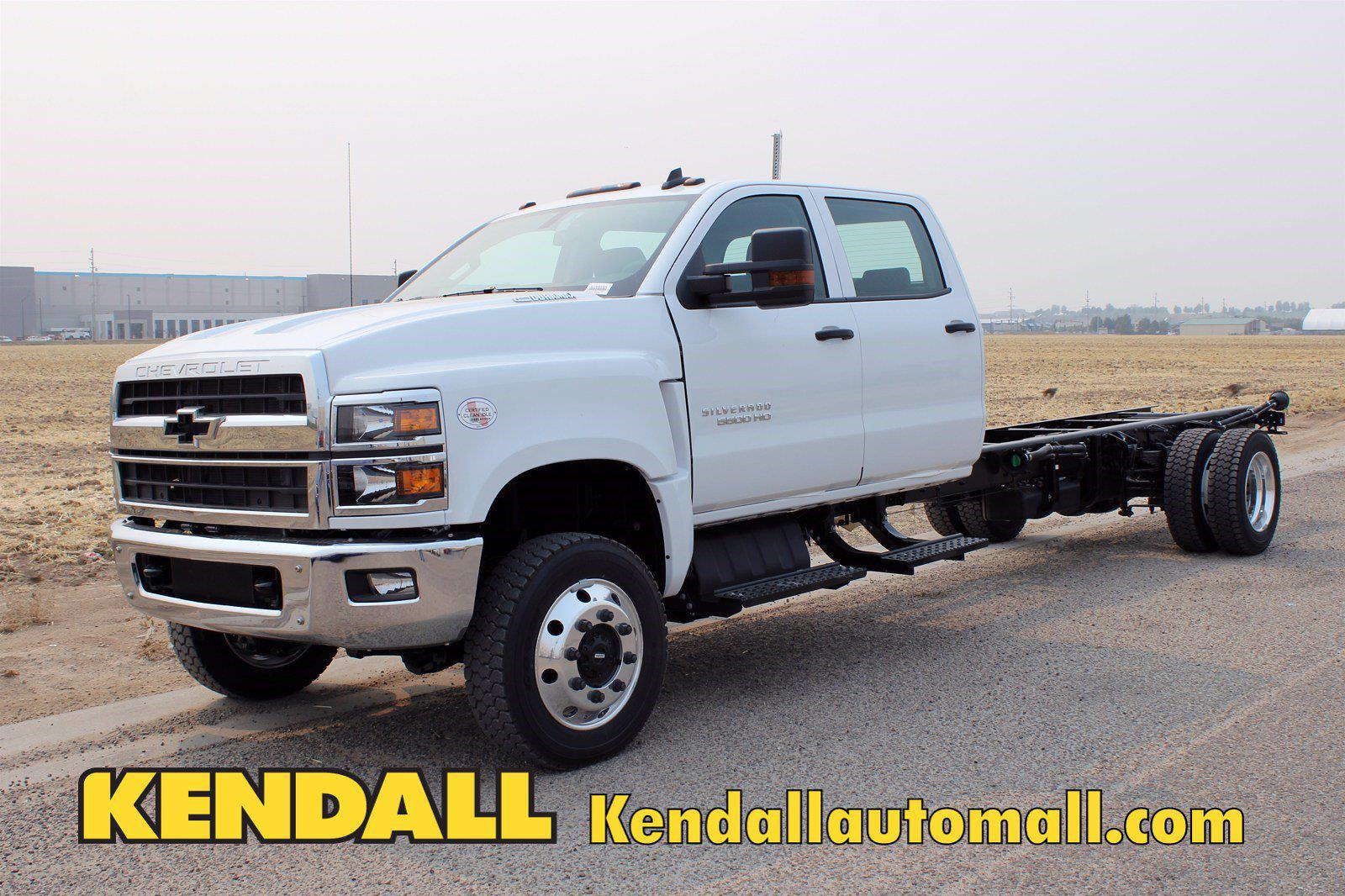 2020 Chevrolet Silverado 5500 DRW 4x4, Cab Chassis #D100455 - photo 1