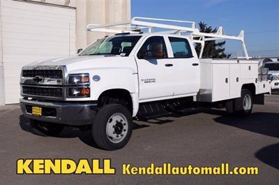 2020 Chevrolet Silverado 5500 Crew Cab DRW 4x4, Scelzi SEC Combo Body #D101273 - photo 1