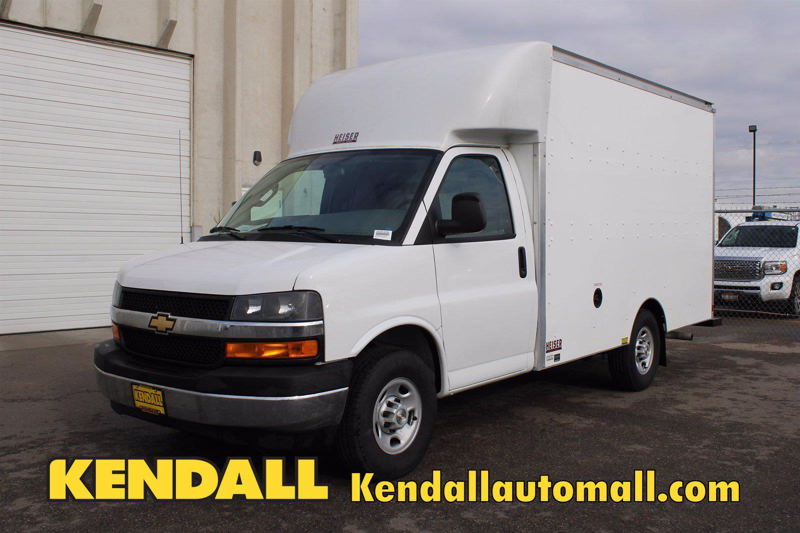 2020 Chevrolet Express 3500 4x2, Supreme Spartan Cargo Cutaway Van #D101275 - photo 1