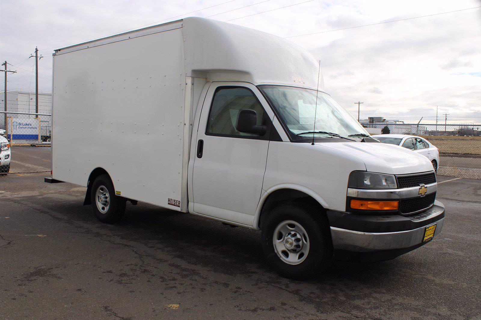 2020 Chevrolet Express 3500 4x2, Supreme Spartan Cargo Cutaway Van #D101275 - photo 3
