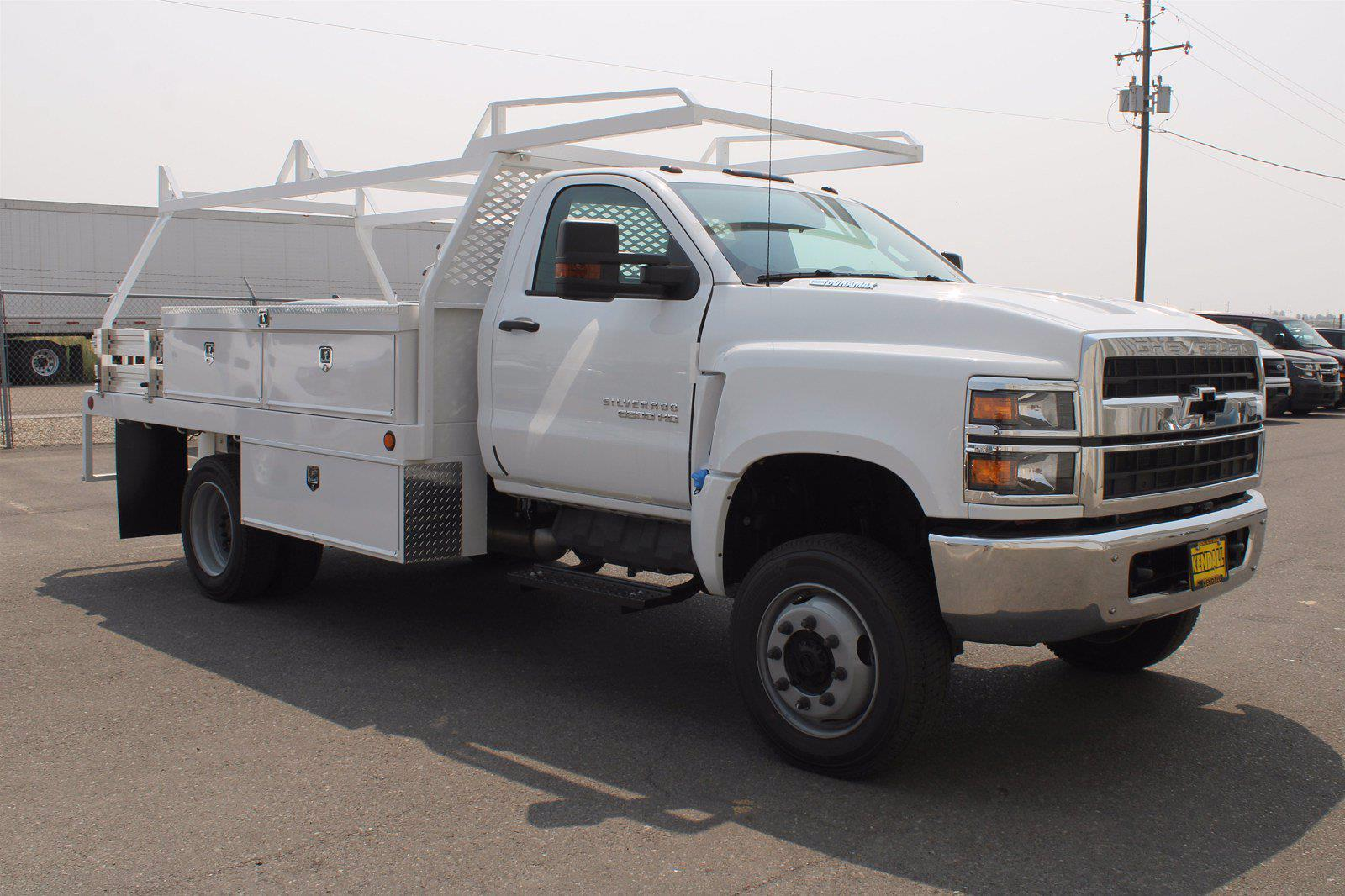 2020 Silverado 5500 Regular Cab DRW 4x4,  Scelzi CTFB Contractor Body #D101277 - photo 3