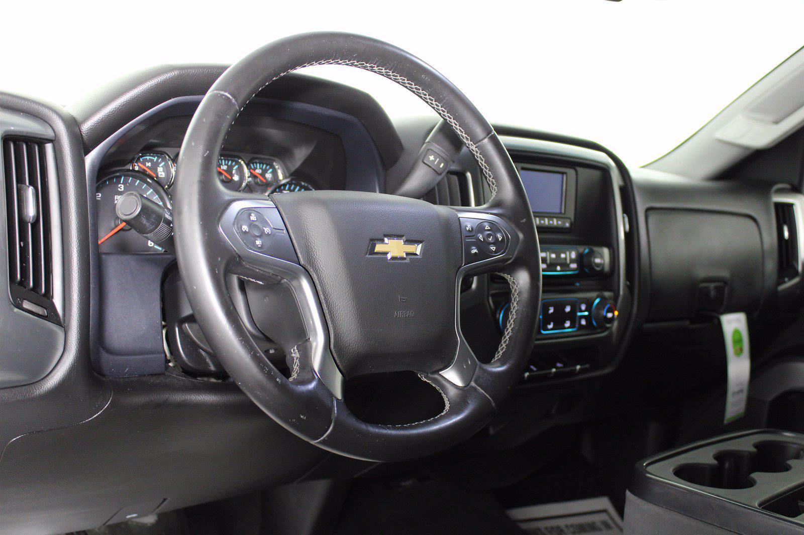2015 Chevrolet Silverado 1500 Crew Cab 4x4, Pickup #D110274A - photo 10